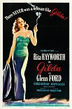 Poster for the film Gilda with Rita Hayworth
