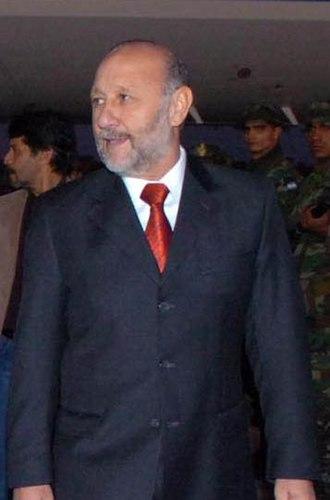 Governor of Formosa Province - Image: Gildo Insfran