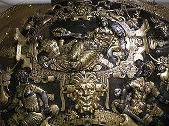 Ghisi Shield - Image: Giorgio ghisi, mantova, scudo da parata, 1554, 05