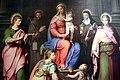 Giovan Battista Ramenghi detto il Bagnacavallo junior, Madonna col Bambino in trono e santi (1550 circa) 03.jpg