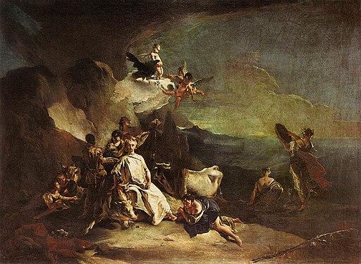 Giovanni Battista Tiepolo - The Rape of Europa - WGA22253