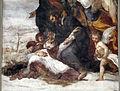 Giovanni da s. giovanni (in basso) e volterrano (in alto), s. felice soccorre s. massimo, 1636, 06.JPG