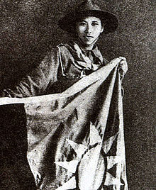 Girl Scout Yang Huimin Battle of Shanghai 1937.jpg