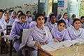 Girls in school in Khyber Pakhtunkhwa, Pakistan (7295675962).jpg
