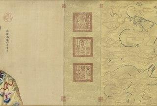 Portraits of the Qianlong Emperor and His Twelve Consorts