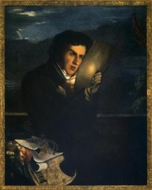 Giuseppe Jappelli - Giuseppe Jappelli; portrait by Michele Fanoli (1807-1876)