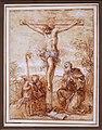 Giuseppe passeri, sant'agostino e due angeli adorano il crocifisso, 1685-95 ca.jpg