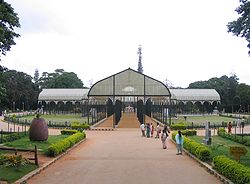 Glass house in Lalbagh, Bangalore (rotated).JPG