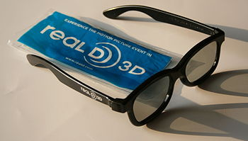 English: Glasses for the RealD Cinema Deutsch:...