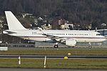 Global Jet Luxembourg Airbus A319-115(CJ) (W) - P4-MGU - ZRH (23075564323).jpg