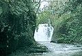 Glynhir Waterfall (Recreated) - geograph.org.uk - 298989.jpg