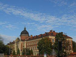 GmachGłównyUniwersytetuEkonomicznego-UlicaRakowicka27-POL, Kraków.jpg