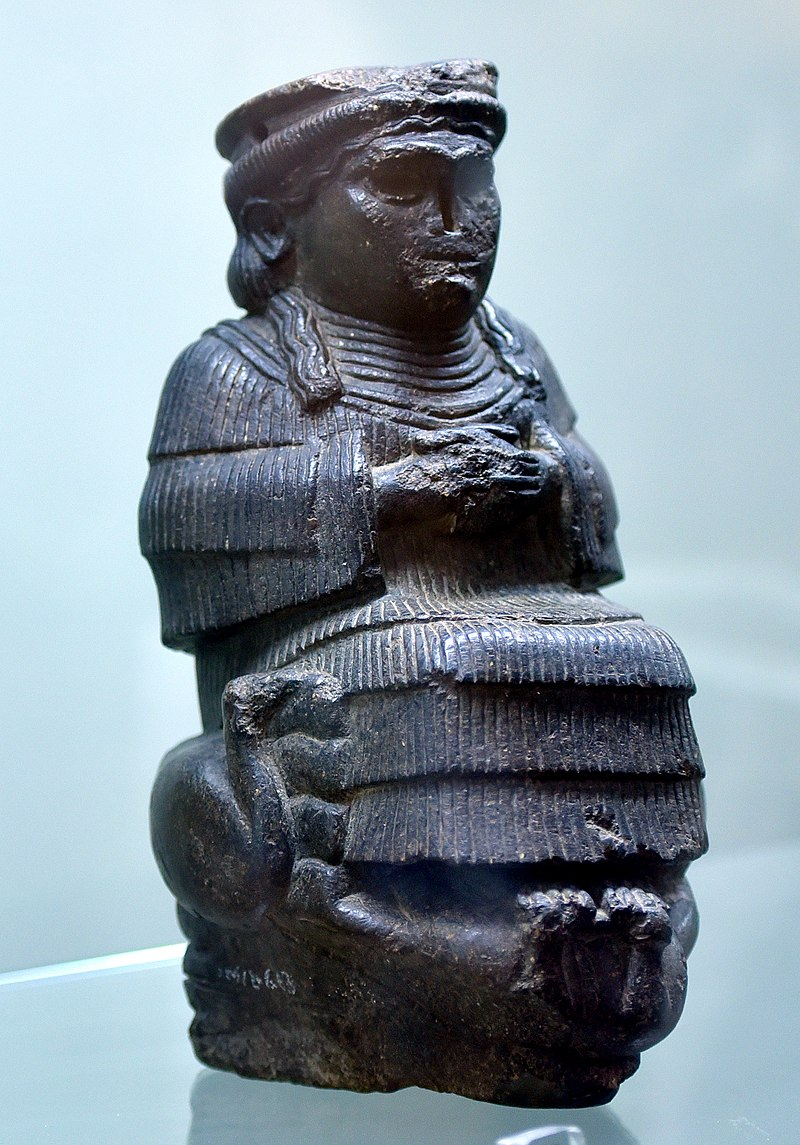 Goddess Bau from Ur, c. 1800 BCE. Iraq Museum.jpg