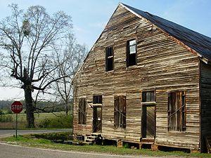 Gold Hill, Alabama - Image: Gold Hill Alabama Barn