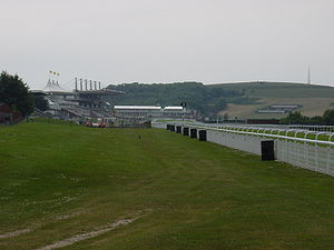 Goodwood Racecourse Stand, West Sussex, England