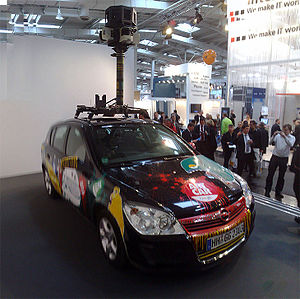 Google Streetview Art Car