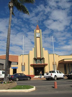 Goondiwindi - Goondiwindi Civic Centre, 2012