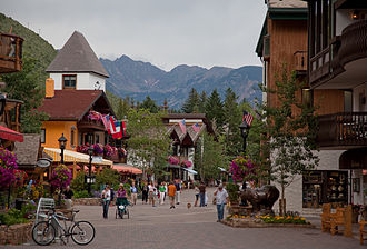 Vail, Colorado - Gore Creek Drive in Vail Village