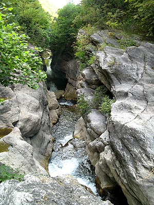 Loup (river) - Image: Gorges du Loup