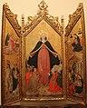 Gottardo scotti, trittico della madonna della misericordia, 1460-80 ca. (mi) 01.JPG