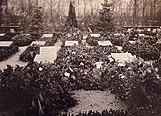 Túmulo do assassinado Karl Liebknecht e Rosa Luxemburgo, 1919