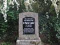 Grabmal Moritz Cantor Grabstätte Bergfriedhof (Heidelberg).JPG