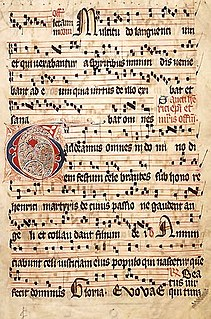 Gregorian chant Form of song