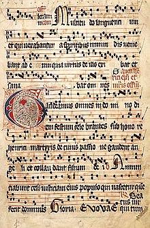 Gregorian chant - Wikipedia