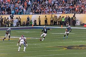 Graham Gano - Gano kicking in Super Bowl 50
