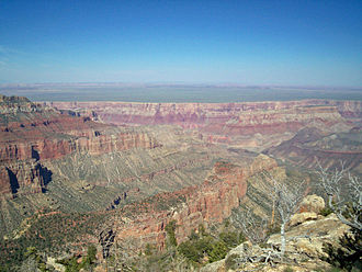 Grand Canyon National Park - View from the North Rim of the Grand Canyon