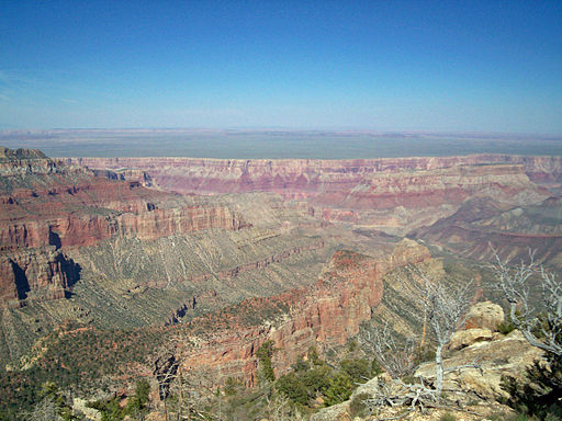 Grand Canyon National Park, North Rim in Arizona