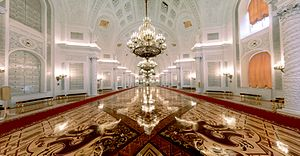 Grand Kremlin Palace - Image: Grand Kremlin Palace Georgievsky hall