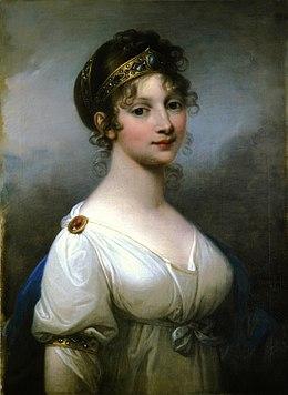 Königin Luise von Preußen, Ölgemälde von Josef Maria Grassi aus dem Jahr 1802 (Quelle: Wikimedia)