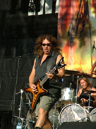 Manni Schmidt - Image: Grave Digger Metalcamp 2007 03