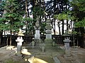 Grave of Takeda Shingen in Erinji.JPG