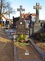 Grave of priest František Krejčí in Březník, Třebíč District.JPG