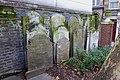Graves in the northwestern corner of Postman's Park.jpg