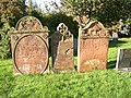 Gravestones in the church yard, Temple Sowerby - geograph.org.uk - 291330.jpg