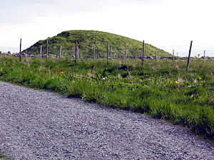 Augvald - One of many burial mounds in Karmøy