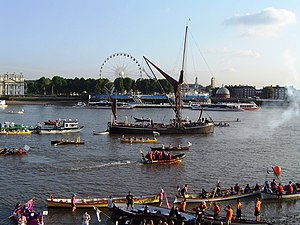 Great River Race - Finish at Greenwich (2008)
