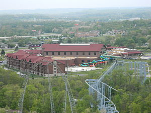 Great Wolf Resorts - Great Wolf Lodge in Mason, Ohio, located next to Kings Island amusement park