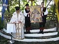 Greek orthodox priest in Griva Kilkis.jpg