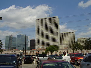 Transocean - Greenway Plaza, the location of Transocean's Houston offices