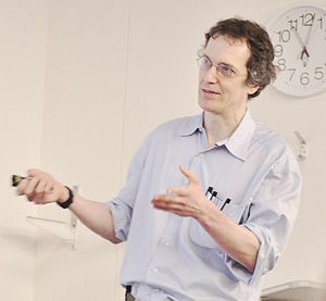 Greg Moore (physicist) - Gregory Moore, 2012