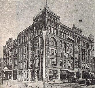 Reid & Reid - Image: Grein Building (BMA 1895)