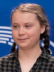 Greta Thunberg at the Parliament (46705842745) (cropped).jpg