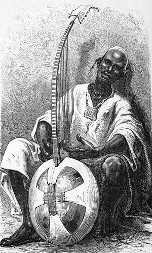 Nyamakala - Image: Griot de Niantanso 1872