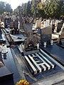 Grob Dragana Manceta, Novo groblje Beograd.jpg