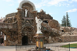 National Register of Historic Places listings in Iowa - Grotto of the Redemption, in Palo Alto County