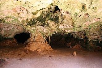 Arikok National Park - Children explore the Guadirikiri Cave